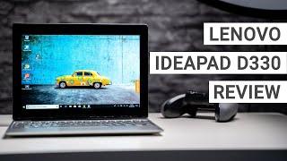 Lenovo IdeaPad D330 Review: A Great Surface Go Alternative?