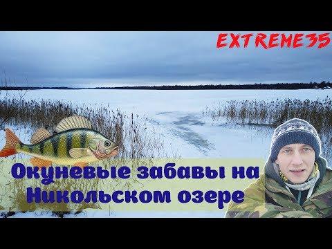 Окуневые забавы на Никольском озере / Fun Fishing On Nikolsky Lake