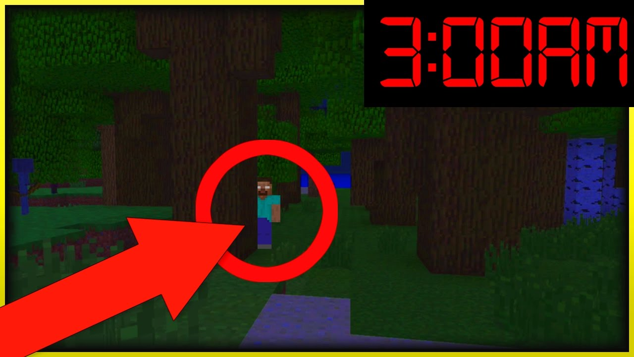 DO NOT NOT PLAY MINECRAFT XBOX at 300 AM HEROBRINE