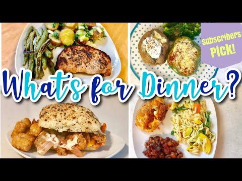 whats-for-dinner-|-easy-dinner-ideas-+-recipes-|-subscribers-pick!-july-2019