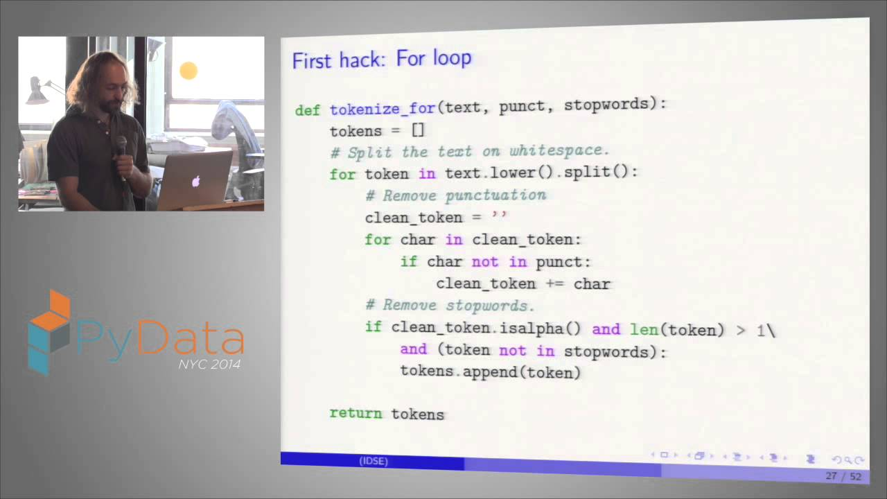 Image from Daniel Krasner - High Performance Text Processing with Rosetta