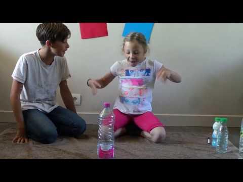 WATER BOTTLE FLIP CHALLENGE
