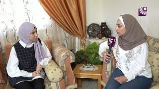 لقاء الطالبة نور محمد نوفل 99.6 الفرع العلمي – قرية سفارين