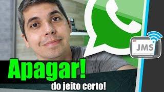 Como Apagar mensagem no Whatsapp do jeito certo