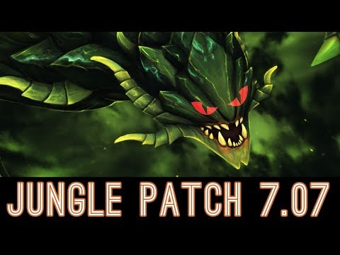 🔴 How to Jungle Viper - Dota 2 Patch 7.07 [Only 2 Bounty Runes] 🔴
