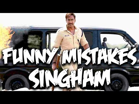 Everything Wrong With Singham | Ajay...