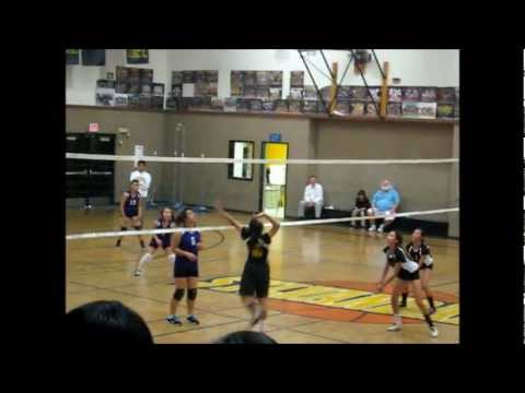 Sylvandale Middle School Volleyball vs. Bridges  2012