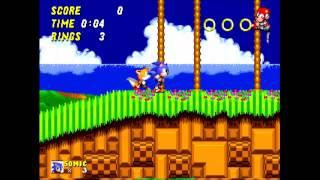 Retron 5 compared to original hardware- Sonic the hedgehog 2