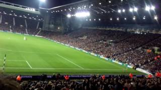 Man United fans at West Brom Amazing support !