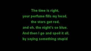Robbie Williams & Nicole Kidman - Something Stupid - Lyrics