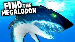 How To FIND THE MEGALODON Boss (Sea of Thieves The Hungering Deep Update)