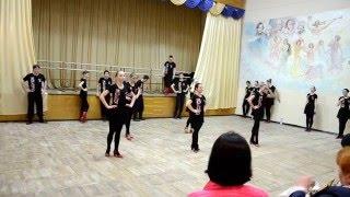 ОБЕРТАС на открытом занятии в Народном ансамбле танца РАДОСТЬ, г. Дн-вск