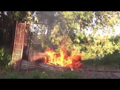Philippines Rocket Pit (fire pit)