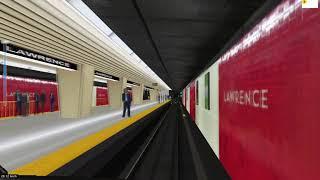 openBVE Toronto Line 1 TR train *Arcade Mode*