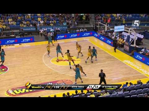 Highlights: Maccabi Fox Tel Aviv - Hapoel Eilat 95:77