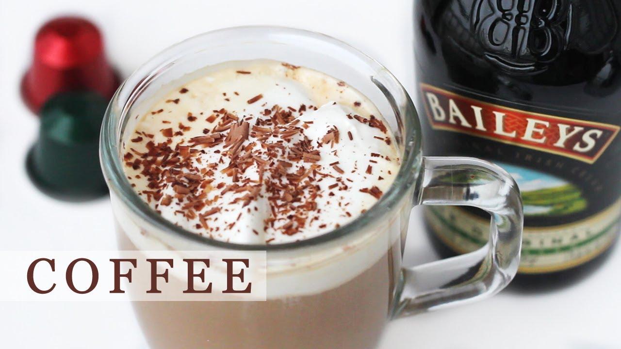 Baileys Coffee Recipe For Holidays Irish Coffee 베일리스