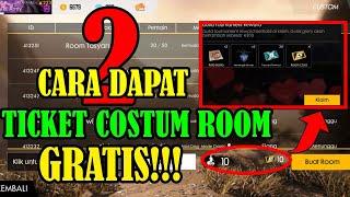 Cara Dapat Tiket Costum Room Gratis! - Garena Free Fire