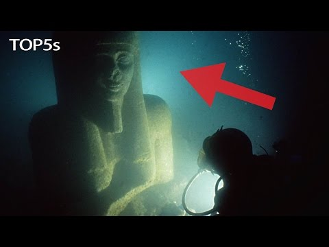 5 Fascinating Lost Underwater Worlds & Abandoned Ancient Cities