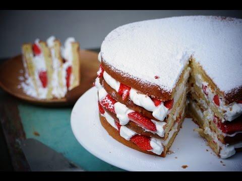 gâteau-au-yaourt-facile-façon-layer-cake-aux-fraises