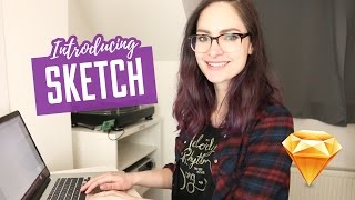 Introduction to Sketch for web design - 101 software tutorial | CharliMarieTV