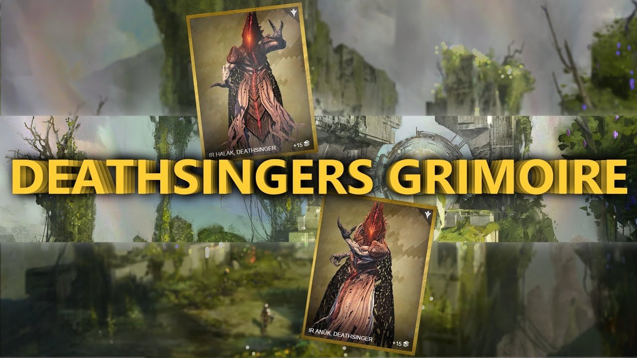 Destiny how to get deathsinger s grimoire card destiny taken king kings fall