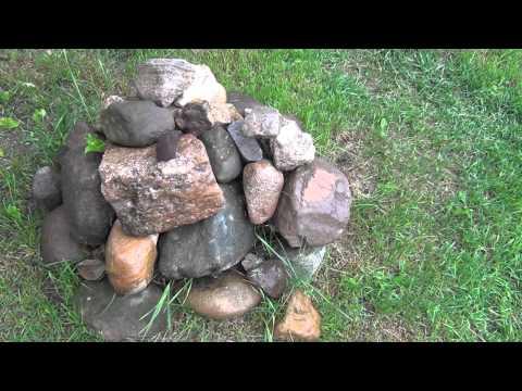 Камни для сада и где их взять