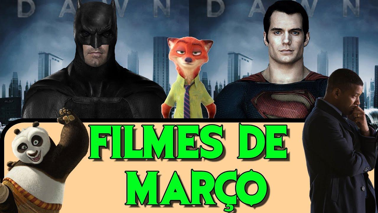 LANÇAMENTOS DE FILMES  - MARÇO  2016