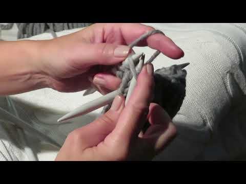 Youtube-Tutorial: Einfache Handstulpen stricken mit XXL Wolle