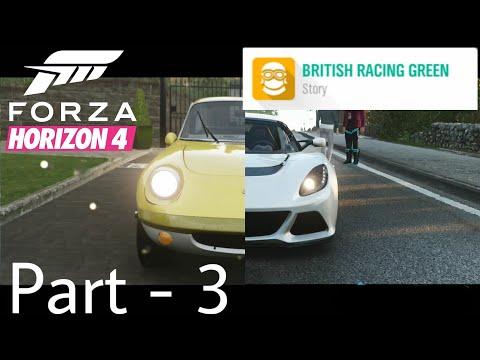 Forza Horizon 4   British Racing Green   The Lotus Spirit   Part 3 Gameplay Walkthrough