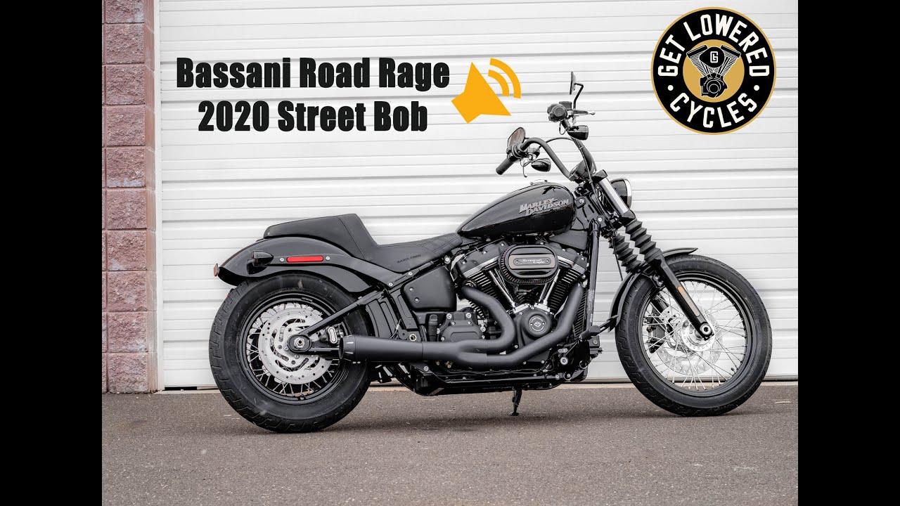 bassani road rage sound clip 2020 harley street bob