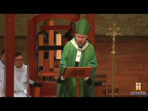 Thirtieth Sunday in Ordinary Time, Homily by Archbishop José H. Gomez (10/29/2017)