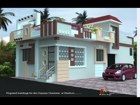 25x50 Feet Beautiful House Design By D K 3d Home Design