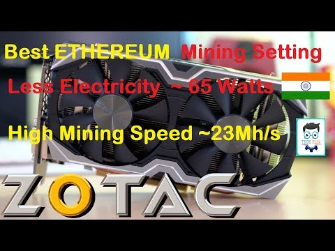 4 Best setting for Mining Ethereum in India Save Electric cost without losing performance - Nvidia