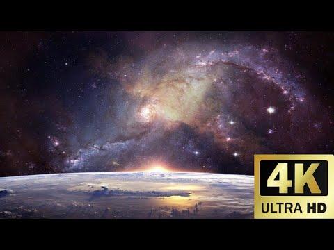 Fondo de pantalla del universo 4k con música relajante para meditar// Wallpaper of the universe 4k
