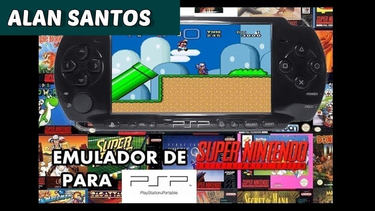 PSP SNES PARA 3010 BAIXAR EMULADOR DE