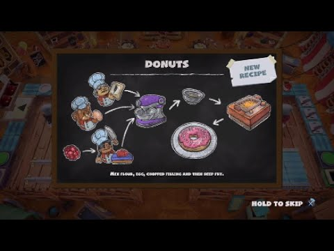Overcooked 2 - Carnival of Chaos - 2-1 3 Star |