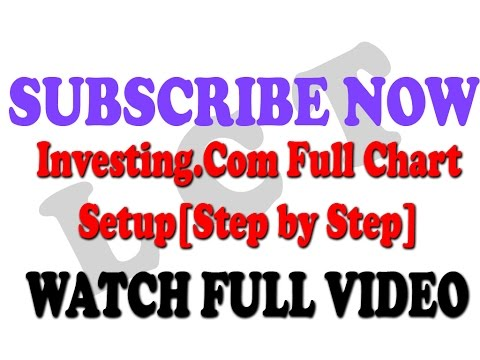 Full Chart Setup | Full Introduction about Investing.com | Step by Step | In Hindi