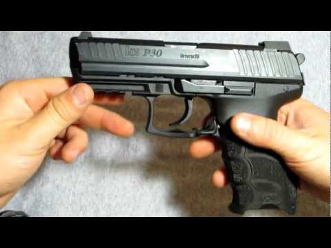 H&K P30 9mm FIELD STRIP (better lighting)