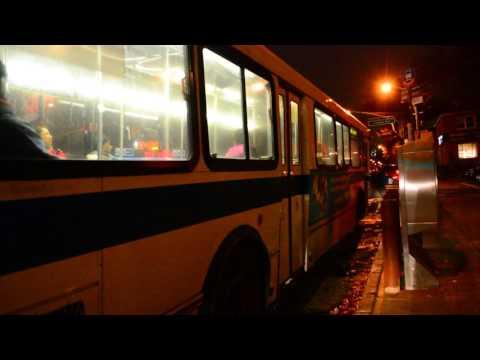 MTA New York City Bus 1999 Orion V 6202 On The Q20A @ Main Street & Jewel Avenue