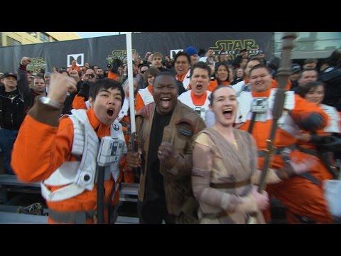 'Star Wars: The Force Awakens' Premieres Amid Heavy Secrecy | ABC News