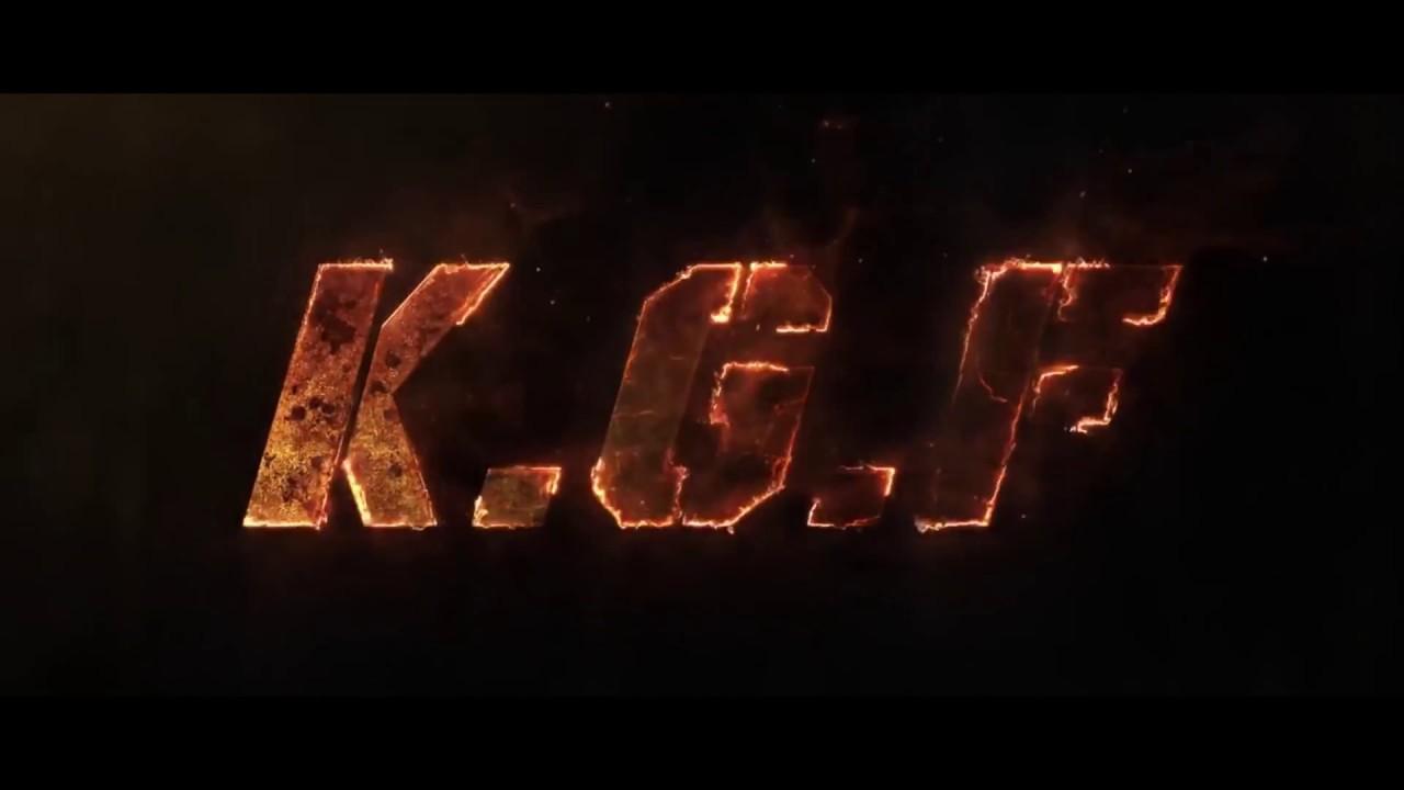Kgf Title Design Kms Studiios Youtube