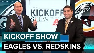 The Kickoff Show: Philadelphia Eagles vs. Washington Redskins | 2018 Week 17