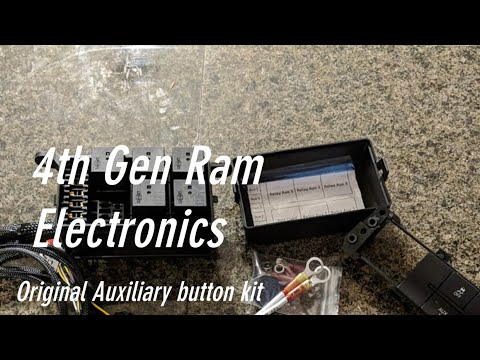 4th Gen Ram Electronics Update