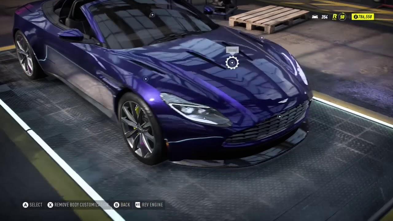 Nfs Heat New Update Aston Martin Db11 Volante 19 Gameplay Youtube