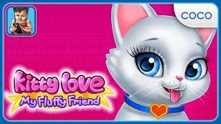 Ухаживай за пушистым питомцем в игре для детей Любовь Котенка - Мой Пушистик от Coco Play