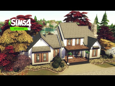 Harbor Home | Nifty Knitting | The Sims 4 |NOCC| Stop Motion