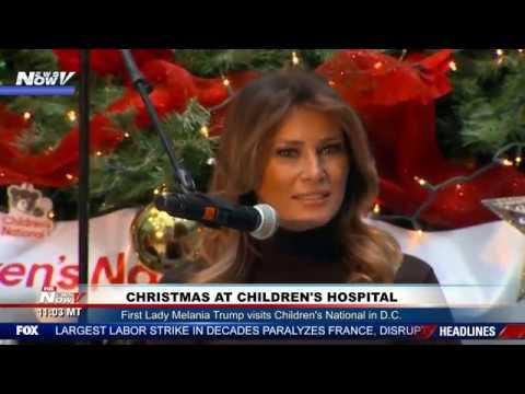 christmas-magic:-melania-trump-reads-story-at-children's-hospital
