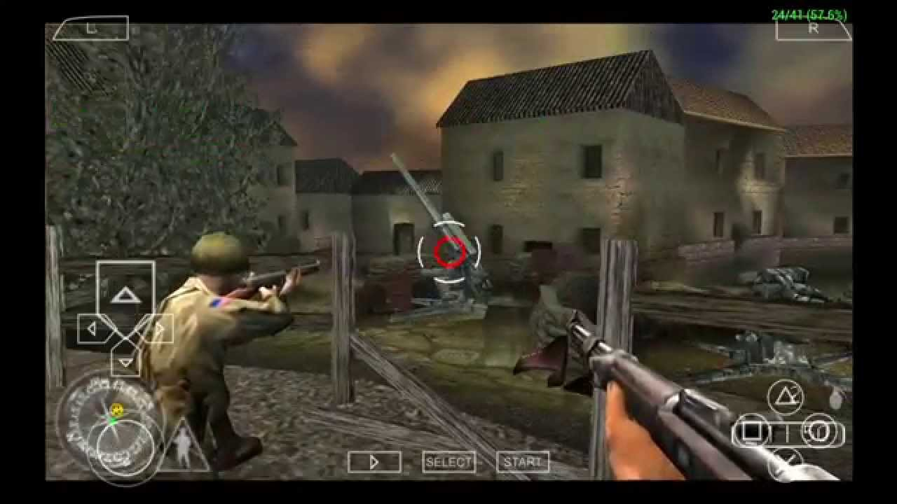 call of duty 3 psp game download