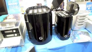 After NAB Show Tokyo 2014:G-Technology「G-RAID Removable/G-SPEED STUDIO/G-RAID STUDIO」を展示