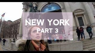 New York'ta Tek Başına | Vlog - Part 3 // Real MacLaren's Pub, Glossier, Museum of National History